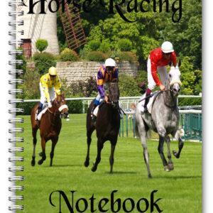 a5 horse racing notebook EBAY